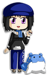 [Commission] Chibi Madeline and Spheal by izka197