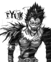 Ryuk first attempt by TonyGrimm