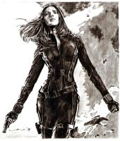 black widow - captain america: the winter soldier by tengari