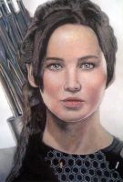 Jennifer Lawrence by ghosthorror