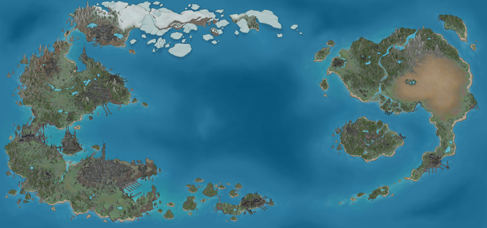 G.S. Map Commission by DodgingTires