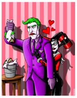 Joker and Harley by TheRigger