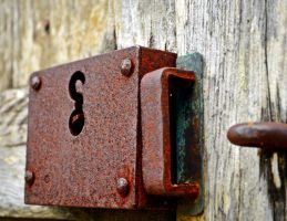 Antique Lock by aggie00