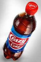 Crazy Cola 3D bottle by 4Ddesigner