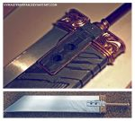 Buster Sword Progress 2 - FFVII Crisis Core by vvmasterdrfan
