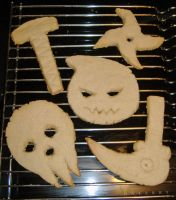 More Soul Eater Cookies by Jetstreak95