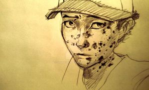 Clementine sketch by ChanChili