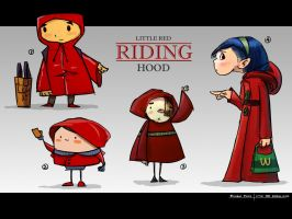 Red-riding-hood-001 by minifong