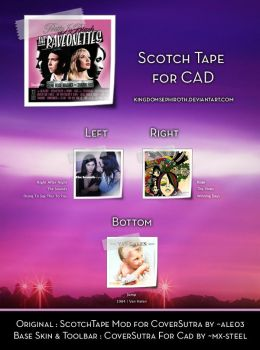 Scotch Tape for CAD by kingdomsephiroth