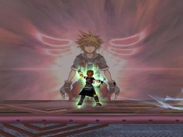 Pit Kingdom Hearts Final Smash by kailmanning