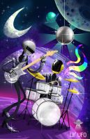 Daft Punk in Space! by LilUFO