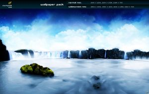 The Falls - wallpaper pack by mpk2