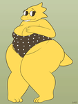 some more alphys by OfficialDM
