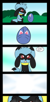 The Egg has hatched (just for fun) by CocoaAkeelahKitten