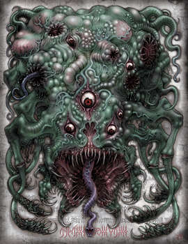 Shoggoth by JeffRussell