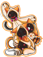 The Kaka Kitties by ChicoStyx