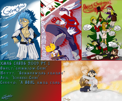 2009 Christmas Cards PART 1 by Xetak6