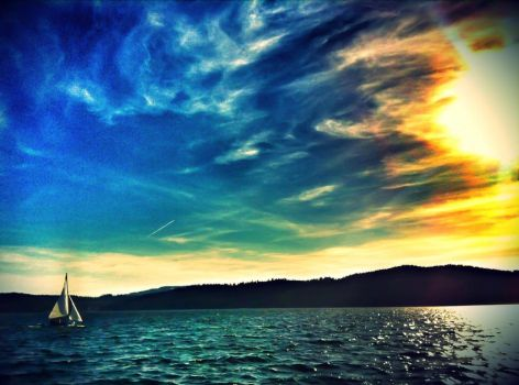 Sailing Away by BaileyMPhotography