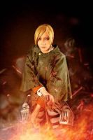 Attack On Titan Cosplay by boomjoy