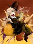 APH Thanksgiving Fan Art by EvilApple513