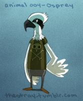 Daily Critter 004 of 365 Osprey by jeff-aka-stray