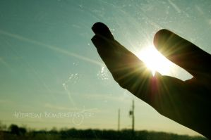 The Sun in My Hand... by Andrew-Bowermaster