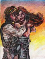 Luke x Mara forever love by BlueValentineRose