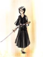 It's Lieutenant Rukia to you by inisipis