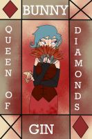 Queen of Diamonds by inky-Birdy