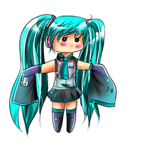 miku chibi commish example by eliza11
