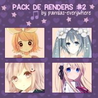 Render pack #2 by Pandas-Everywhere