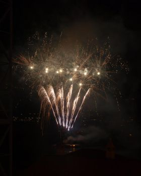 fireworks by Morghash
