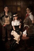 STEAMPUNK_BeforTheStart by TheOuroboros