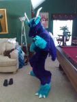 Finished Dragon Fursuit Commission by yamihp7