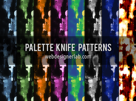 Palette Knife Patterns by xara24