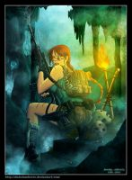 Lara croft - The cavern by diabolumberto
