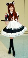Maid Makise Kurisu MTAC 2015 by Lightning--Baron