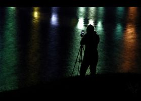 Night Photographer by tuberosum