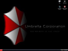 Umbrella Corporation theme 2 by Alphamatroxom