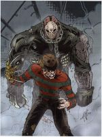 Freddy VS Jason by AMP01
