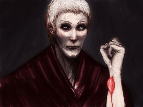 Roose Bolton by Inenarrable