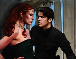 Lovers - Tenel Ka, Jacen Solo by saith100