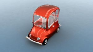 Cartoon car by osmala
