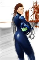 WIP future girl 2 by stanmoua