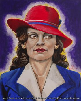 Agent Peggy Carter by WolfenM