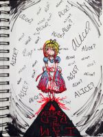 I'm not Alice by AngelicReaper21