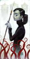A Hunting We Go: A. Hepburn by jasinski