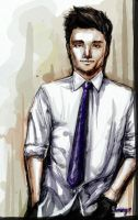 Josh Hutcherson Sketch by Jijiyee
