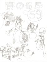 Dorm Room 59 Cover .:INCOMPLETE:. by Shard588