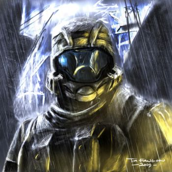 ODST - The Rookie by Arukun14